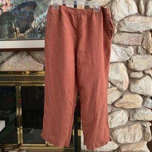 J Jill Linen Pants Large